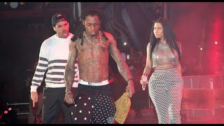 getlinkyoutube.com-Lil Wayne And Birdman Fight At Nightclub Throws Bottles On Stage At Wayne