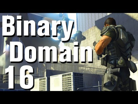 Binary Domain Walkthrough Part 16 - Iron Raptor [No Commentary] [HD]
