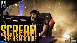 getlinkyoutube.com-CS:GO - Scream The HS Machine