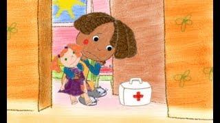 """getlinkyoutube.com-""""Miss Polly had a Dolly"""" Children song Animated Cartoon"""