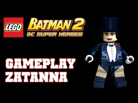 COTV - LEGO Batman 2 Zatanna DLC Gameplay Commentary