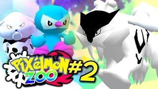 getlinkyoutube.com-Pixelmon ZOO Fire & Ice - ICE LEGENDARY RAIKOU! (Minecraft Pixelmon Roleplay) #2
