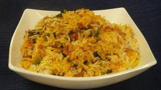 getlinkyoutube.com-Vegetable Biryani | Sanjeev Kapoor Khazana
