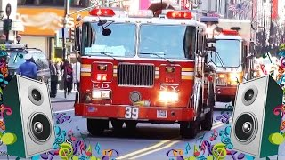 getlinkyoutube.com-Fire Engine Song For Kids - Fire Truck Videos for Children