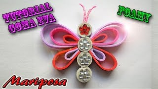 getlinkyoutube.com-♥ Tutorial Mariposa (Foamy): Corazón ♥