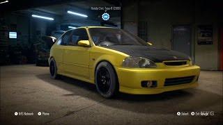 getlinkyoutube.com-Need For Speed 2015 - Honda Civic Type-R 2000 - Customize Car   Tuning (XboxONE HD) [1080p]