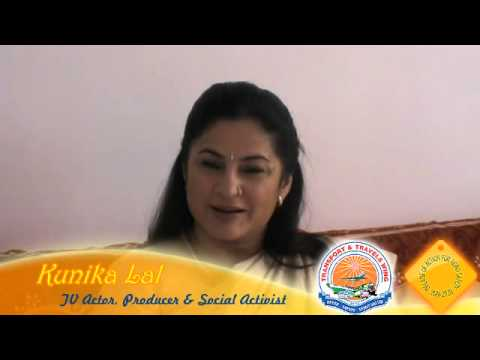 Kunika Lal, a popular film and TV Actress in India, shares her thoughts on Road Safety.