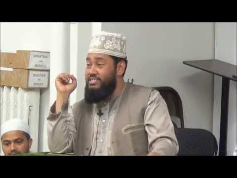 BANGLA WAZ BY MAULANA TAREK MUNAWAR,MADANI MASJID AT WOODSIDE,NY