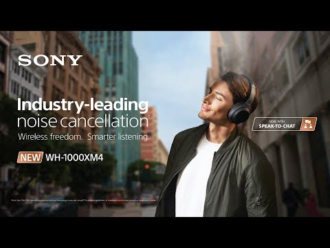 Sony WH-1000XM4S Premium Noise Cancelling Wireless Headphone - Silver