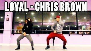 getlinkyoutube.com-LOYAL - @ChrisBrown Dance Video | Choreography by @MattSteffanina & Dana Alexa