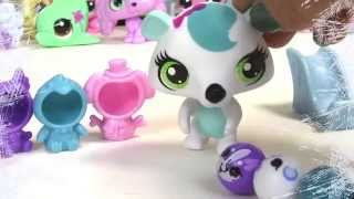 getlinkyoutube.com-Snow Day - Littlest Pet Shop Chilly Weather Fun Playset LPS Rolleroos