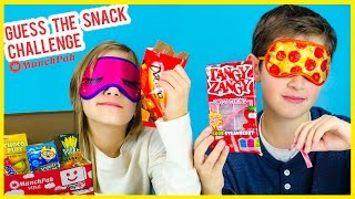 getlinkyoutube.com-GUESS THE SNACK CHALLENGE AND CANDY TASTE TEST! SNACKS FROM AROUND THE WORLD MUNCHPAK UNBOXING