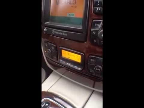 Mercedes-Benz S320 (W220) климат контроль