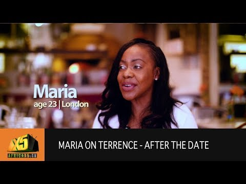 Love at First Sight - Maria Speaks about Terrence (AFTER THE DATE)
