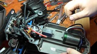 How to Install a Castle Mamba Monster 2 ESC  and 2650 motor in a Traxxas Stampede 4x4 VXL (RUS)