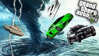 getlinkyoutube.com-EPIC TORNADO MOD! | GTA 5 PC Mods Gameplay