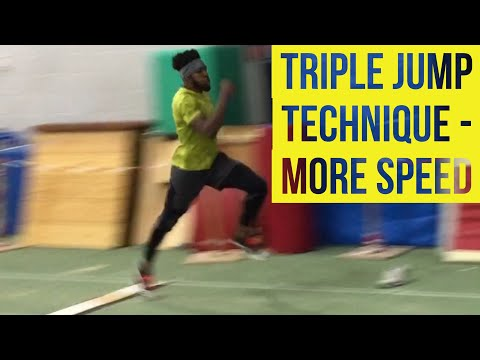 TRIPLE JUMP TECHNIQUE - MORE SPEED