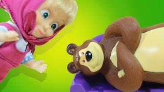 getlinkyoutube.com-Маша и Медведь. Как непослушная Маша наказала сама себя. Мультик с игрушками