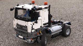 getlinkyoutube.com-RC & motorizet B model Lego technic 42043 Mercedes-Benz Acros 3245