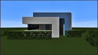 Minecraft tuto - Construction d'une maison moderne