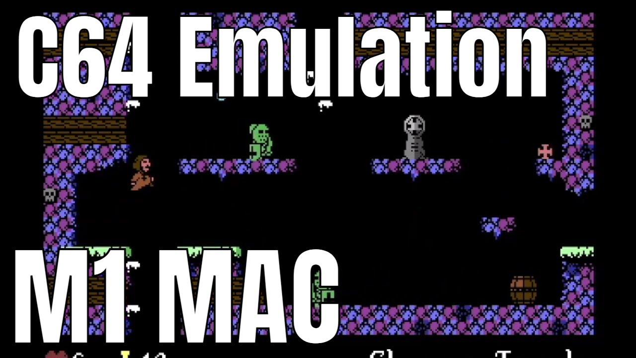 Abbaye des Morts C64 on MAC M1