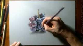 getlinkyoutube.com-How to draw grapes