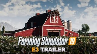 Farming Simulator 19 E3 CGI Trailer - John Deere Reveal