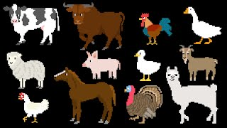 getlinkyoutube.com-Farm Animals - Old MacDonald  - The Kids' Picture Show (Fun & Educational Learning Video)
