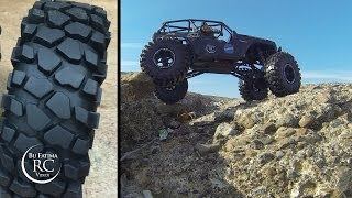 "getlinkyoutube.com-Testing my New Tires ""Rock Crusher"" from RC4WD - Axial WRAITH"