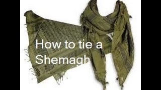 How To Tie a Shemagh - Three Different Methods