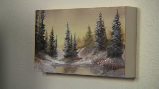 getlinkyoutube.com-Paint with Kevin Hill - Painting on a Birch Panel