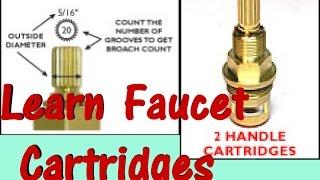getlinkyoutube.com-Repair Faucet 1/4 Turn Ceramic Cartridge Drip