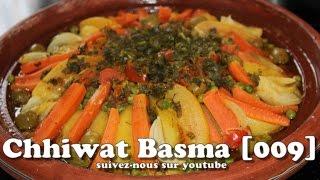 getlinkyoutube.com-Chhiwat Basma [009] - Tajine de poulet aux légumes marocain طاجين مغربي أصيل بالدجاج والخضر