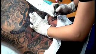 DRAGON FULL BACK COVER UP