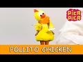 Pica-Pica - Pollito chicken Videoclip Oficial - English Pitinglish