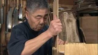 getlinkyoutube.com-下町に息づく伝統の技 江戸指物3/6