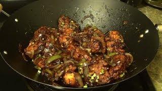 Chilli Chicken Dry - How to make Chilli Chiken by Home Kitchen