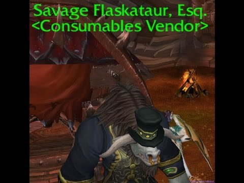 WoD Beta Enchants+Flasks