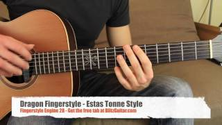 getlinkyoutube.com-Dragon Fingerstyle - Estas Tonne Guitar Style - Fingerstyle Engine #28