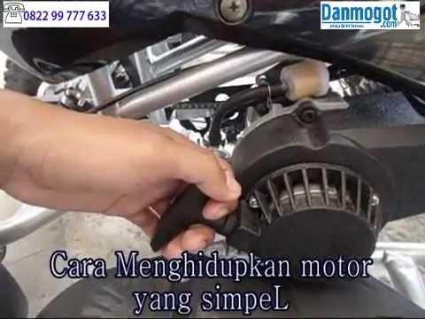 Motor Mini ATV 49cc 4 roda anak 2 tak ATV 3