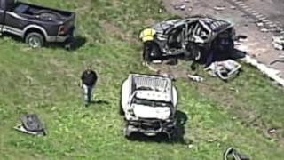 Un accidente en I-29, dejo como saldo tres personas muertas