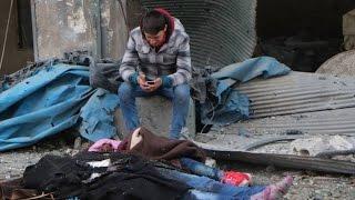 getlinkyoutube.com-20 شهيدا في قصف للنظام على كفرنبل بريف ادلب