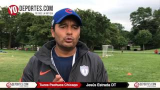 Tuzos Chicago imparte clínicas para futbolistas que van a High School