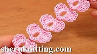getlinkyoutube.com-Crochet Cord Heart Elements Tutorial 62 Crochet Small Hearts
