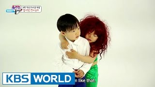The Return of Superman - Minguk has Become a Mermaid