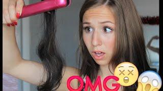 getlinkyoutube.com-Die 5 schlimmsten FEHLER beim LOCKEN MACHEN  / Hair Tutorial DONT'S - Cali Kessy