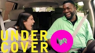 Undercover Lyft with David Ortiz