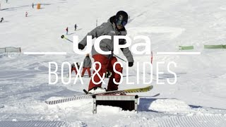 getlinkyoutube.com-Tutoriel Ski & Snowboard Freestyle N°12 : Les box et les slides