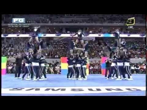 Adamson Pep Squad - 2012 UAAP Cheerdance (with Original Cheermix)