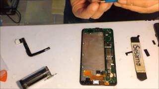 getlinkyoutube.com-Microsoft lumia 640 XL repalce screen sostituzione vetro lcd
